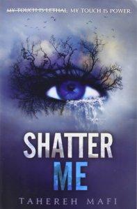 Shatter Me bookcover