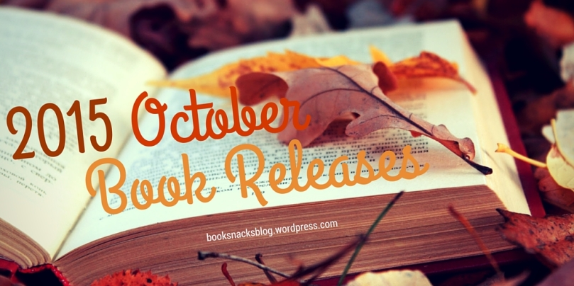 2015 October Book Releases