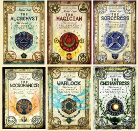 The Secrets of the Immortal Nicholas Flamel series