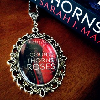 A Court of Thorns and Roses pendant