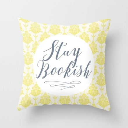 Stay Bookish Pillow