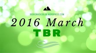 2016 March TBR